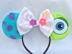 Monsters Inc. Mouse Ears by TheAvengears on Etsy