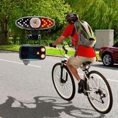 Luces LED inalámbricas de señalización para bicicletas   Tecniac