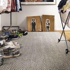 Contemporary Room Design With Flor Carpet Tiles