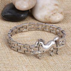 ファッションパンク馬ステンレス鋼の魅力のブレスレットdiyブレスレット&腕輪チャームブレスレット男性pulseiraジュエリーギフト