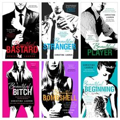Beautiful Bastard series by Christina Lauren I have read 4 out of the 6 books so far. Pretty good. I like how the book flips view points every chapter.