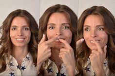 Говорят, есть зарядка для лица: делаешь — и морщины не появляются. Какие в ней упражнения?