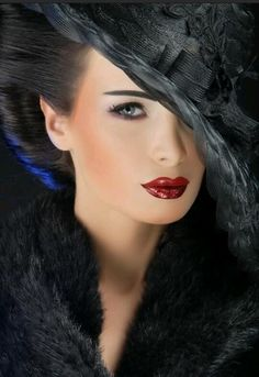 Like her makeup
