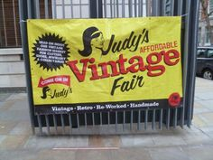 Vintage Freak Clothing at Spitalfields Affordable Vintage Fair 02/01/2013