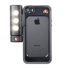 Sale Preis: Manfrotto MKOKLYP5S Schutzhülle mit SMT LED Leucht für Apple iPhone 5/5S schwarz. Gutscheine & Coole Geschenke für Frauen, Männer & Freunde. Kaufen auf http://coolegeschenkideen.de/manfrotto-mkoklyp5s-schutzhuelle-mit-smt-led-leucht-fuer-apple-iphone-55s-schwarz  #Geschenke #Weihnachtsgeschenke #Geschenkideen #Geburtstagsgeschenk #Amazon