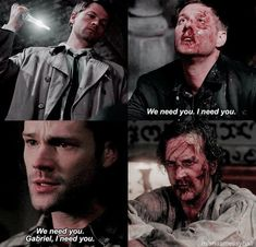Destiel and sabriel we need you , I need you parallels Voldemort, Oscar Wilde, Sam And Gabriel, Supernatural Ships, Supernatural Imagines, Supernatural Wallpaper, Funny Character, Super Natural, Series Movies