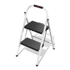 Rubbermaid 2-step Steel Step Stool Rm-hsp2