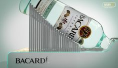 Bacardi Superior Display on Behance