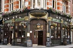 """The Leicester Arms pub, London, England. """"an old fashioned pub located in Soho... decor and ambiance are nice"""" -- by L Plater, via Flickr. http://www.naviquan.com/page/london-pubs/2/"""
