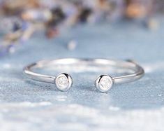 HANDMADE RINGS & BRIDAL SETS by MoissaniteRings on Etsy Bridal Ring Sets, Handmade Rings, Stud Earrings, Engagement Rings, Diamond, Etsy, Jewelry, Enagement Rings, Jewels