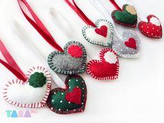 1000 images about deco noel on pinterest heart coeur d - Decoration arbre de noel ...