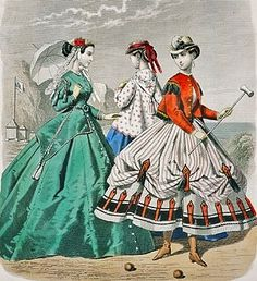 Early American Gardens: A brief history of Croquet in the Garden & the fashions that followed