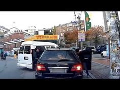 Road Rage In South Korea With A Butcher Knife And Two Goons