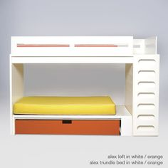 Youngsters Bedroom Furnishings – Bunk Beds for Kids White Bunk Beds, Double Bunk Beds, Cool Bunk Beds, Adult Bunk Beds, Twin Bunk Beds, Kids Bunk Beds, Loft Beds, Bunk Bed Designs, One Bed
