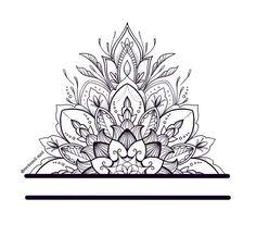 Mandala Tattoo Sleeve Women, Floral Mandala Tattoo, Mandala Tattoo Design, Tattoo Designs, Best Tattoos For Women, Sleeve Tattoos For Women, Ankle Tattoo, Arm Band Tattoo, Tattoo Sketches