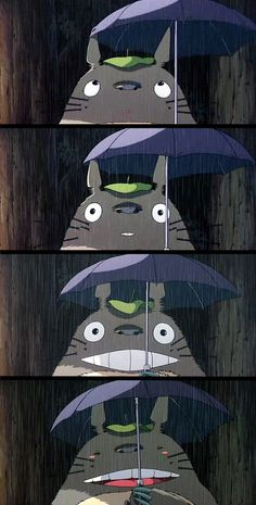 mypessimisticheart:moviesinframes:      Tonari no Totoro (My Neighbour Totoro), 1988 (dir. Hayao Miyazaki)  [more Totoro here]    Some more stills from the film - thank you for the follow kiala-macaroni! This is my one of my favourite scenes from the film, is it yours as well?