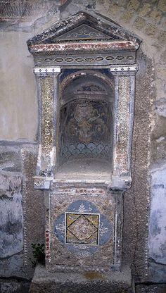 *POMPEII, ITALY ~ Larium (?from The House Of Loreius Tiburtinus)