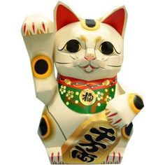 Lucky cat (Beckoning for money),Decorative,Paper Craft,New Years,Asia / Oceania,Japan,white,cat,Money