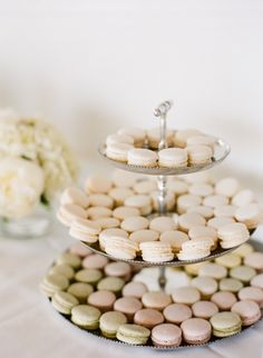 a pastel palette of macarons Photography by staceyhedman.com