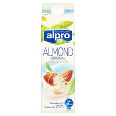 Almond Milk, my favourite brand and I always go for the 'original' as its a little sweeter than the 'unsweetened', use it in my smoothies and cereal