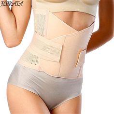 62d75e1155972 Women Waist Trainer Belt Belly Band Belts Hot Body Shaper After Birth Slim  Belt Corset Postpartum Tummy Trimmer Body Fat Burne