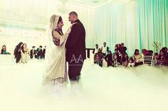 First Dance at a Pakistani Wedding Reception