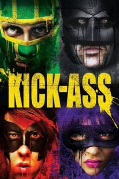 Kick-Ass on Blu-ray from Lions Gate Films. Directed by Matthew Vaughn. Staring Clark Duke, Christopher Mintz-Plasse, Aaron Johnson and Chloe Grace Moretz. More Action, Comedy and Dark Comedy DVDs available @ DVD Empire. Nicolas Cage, Streaming Vf, Streaming Movies, Tv Series Online, Movies Online, Hit Girls, Movies To Watch, Good Movies, Movies Free