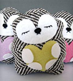 Sleepy Stuffed Hedgehog Plush