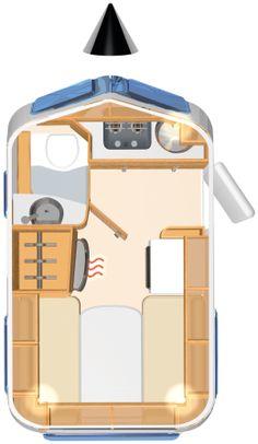 New Eriba Familia 320 Automotive Leisure Small Camping Trailer, Off Road Camper Trailer, Camper Trailers, Tiny Camper, Camper Life, Camper Van, Teardrop Camper Plans, Offroad, Little Trailer