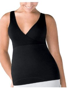 5251be82264d8 Spanx Black Hide Sleek Criss Cross Camisole Cami 223 Blk Activewear Top Size  20 (Plus. Tradesy