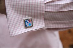 Floral Cuff Links available here!