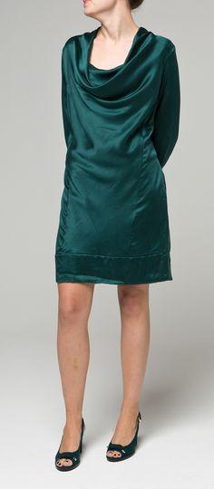 Teal Silk Evening Dress $239