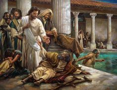Joe Catholic - Today's Navarre Bible commentary reflects upon Christ's healing of the paralytic man in St. John's Gospel.
