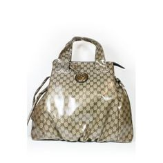 Gucci Handbags Beige Brown (coating) Leather 286305