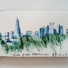 quick view of from yesterday inc & London Skyline, Cool Artwork, Instagram Posts, Painting, Inspiration, Biblical Inspiration, Cool Art, Painting Art, Paintings