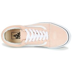 622703ea050 Chaussures Femme Baskets basses Vans OLD SKOOL Rose