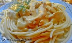 Fokhagymás tejszínes csirkeragu recept - Receptneked.hu