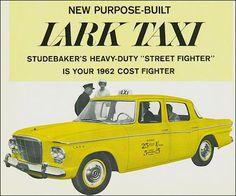 1962 Studebaker LarkTaxi