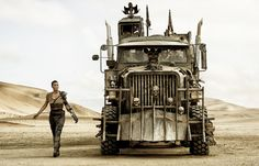 Mad Max: Fury Road As one-armed Furiosa, Theron assuredly drives her own War Rig.