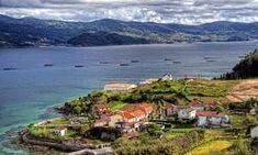 The Ria de Pontevedra from Combarro.