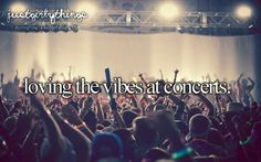 I HATE the smell of marijuana, but at a concert... just smells like home, when mixed with the odour of sweat and strobe lights and metal ;)