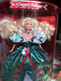 Happy Holidays Special Edition 1995 Barbie Doll  NRFB