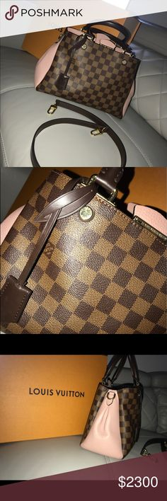 Louis Vuitton Brittany Noir Damier Ebene Pre owned. I received as a gift and no longer wear. Louis Vuitton Bags Shoulder Bags