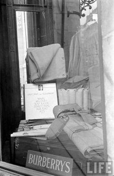 Shop window in Soho, London 1939