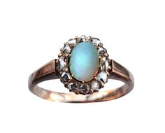 Gorgeous ring from antique jewelery store Erin Basin in New York