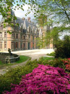 Дворцы Франции: Треваре (Chateau de Trevarez): masterok
