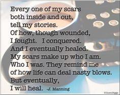 Healing everyday.