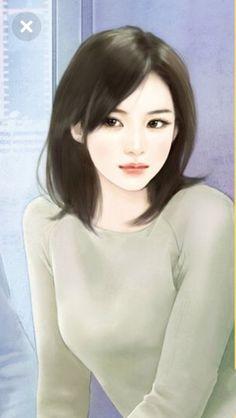 Anime Art Girl, Manga Art, Cute Girl Wallpaper, Painting Of Girl, Korean Art, China Art, Digital Art Girl, Beautiful Anime Girl, Illustration Girl