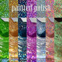 It's holo glitter time with Painted Polish again by simplynailogical
