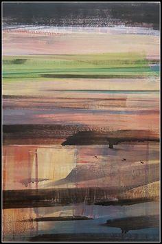 "Saatchi Art Artist Agustin Vaquero; Drawing, ""Abstract Landscape Nº 7."" #art"